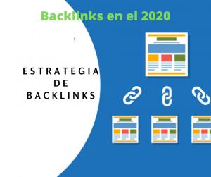 estrategia de backlinks en el 2020
