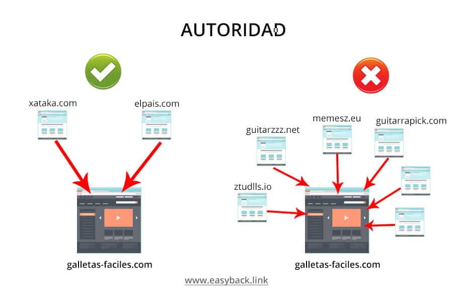 backlinks autoridad