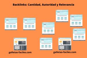 backlinks - cantidad - autoridad - relevancia
