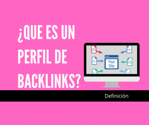 perfil de backlinks