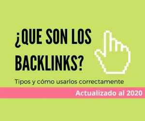 que son los backlinks y enlaces
