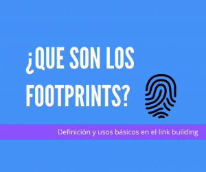 que son los footprints