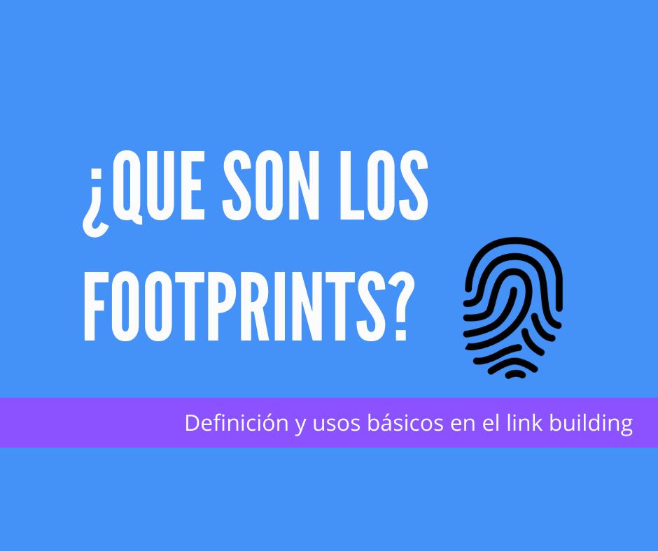 que son los footprints