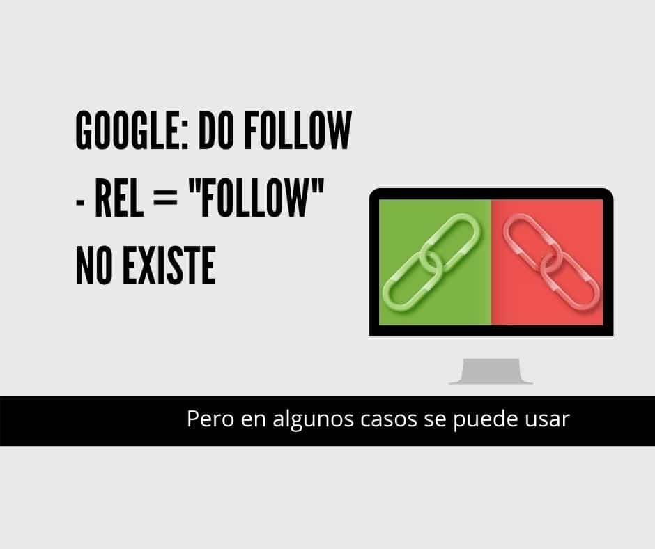 rel follow no existe